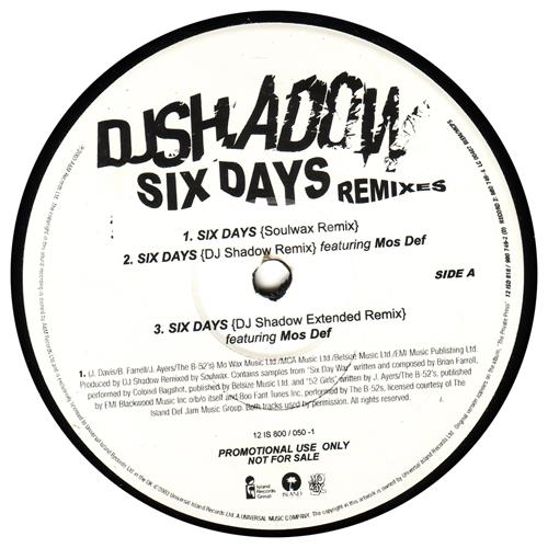 musica six days dj shadow mos def the remix